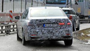 BMW Serie 7 facelift LCI 2019 SPY - G11 G12 (5)