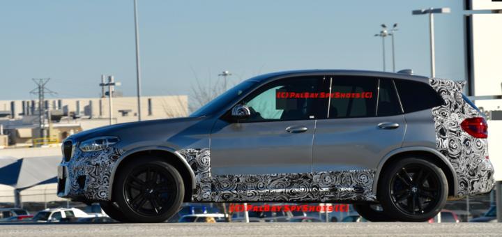BMW X3M Spy - F97 - BMW X3 2018