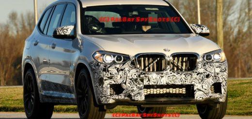 BMW X3M Spy - F97 - BMW X3 (6)