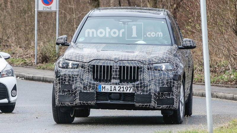 BMW X7 2018 Spy G07