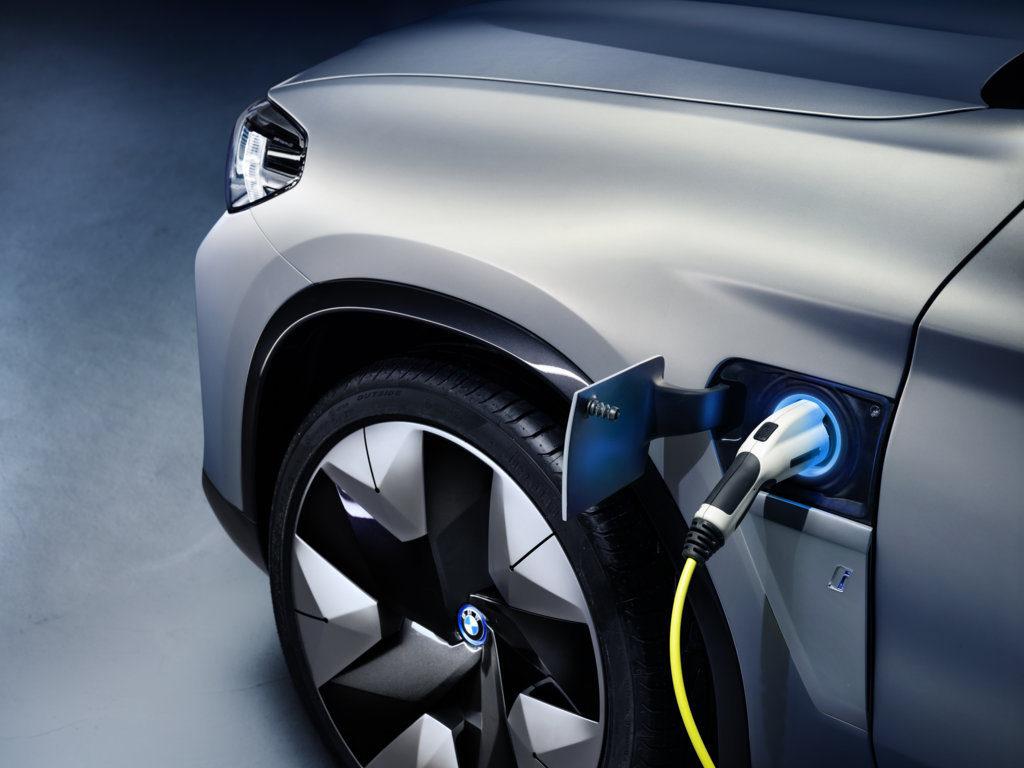BMW Concept iX3 2019 - BMW X3 EV - Auto China 2018 (10)