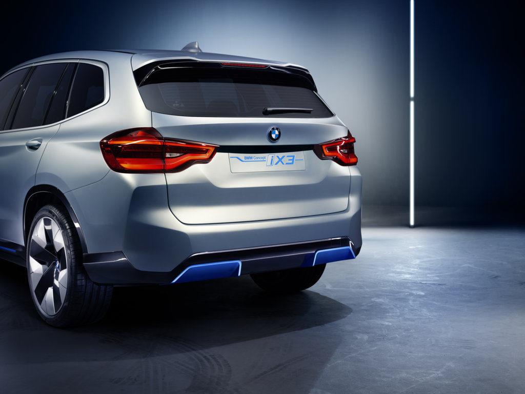 BMW Concept iX3 2019 - BMW X3 EV - Auto China 2018 (6)