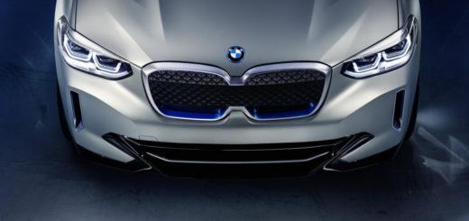 BMW Concept iX3 2019 - BMW X3 EV - Auto China 2018 (7)