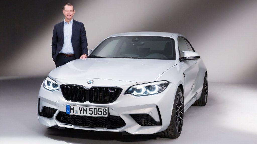 BMW M2 Competition - Frank Van Meel BMW M Divison