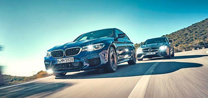 BMW M5 M xDrive F90 - Mercedes-AMG E63 S 4Matic + 2018