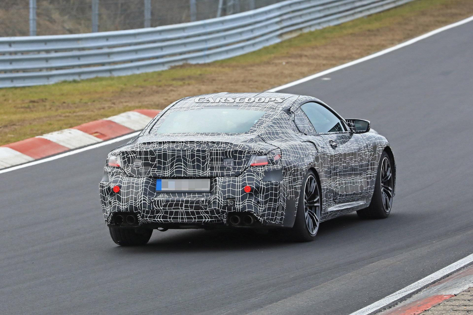 Bmw M8 Coupe E Cabrio Al Nurburgring Bmwnews