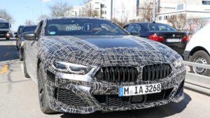 BMW M850i Coupe Spy 2019 G14
