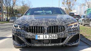 BMW M850i Coupe Spy 2019 G14 (4)