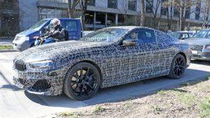 BMW M850i Coupe Spy 2019 G14 (6)