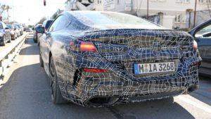 BMW M850i Coupe Spy 2019 G14 (8)
