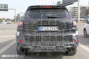 BMW X5 M 2019 Spy - F95 (7)