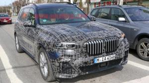 BMW X7 2019 Spy G07 - BMW X7 xDrive50i (2)