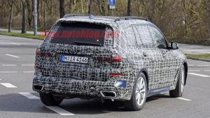 BMW X7 2019 Spy G07 - BMW X7 xDrive50i (3)
