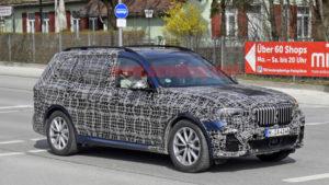 BMW X7 2019 Spy G07 - BMW X7 xDrive50i