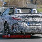 BMW Z4 Roadster Spy 2018 - G29 (10)