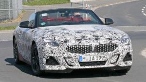 BMW Z4 Roadster Spy 2018 - G29 (12)
