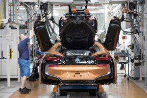 BMW i8 Roadster 2018 BMW Plant Leipzig (2)
