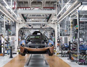 BMW i8 Roadster 2018 BMW Plant Leipzig (3)