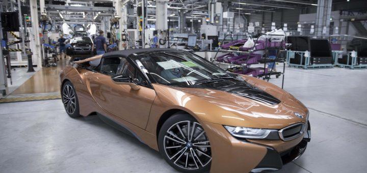 BMW i8 Roadster 2018 BMW Plant Leipzig