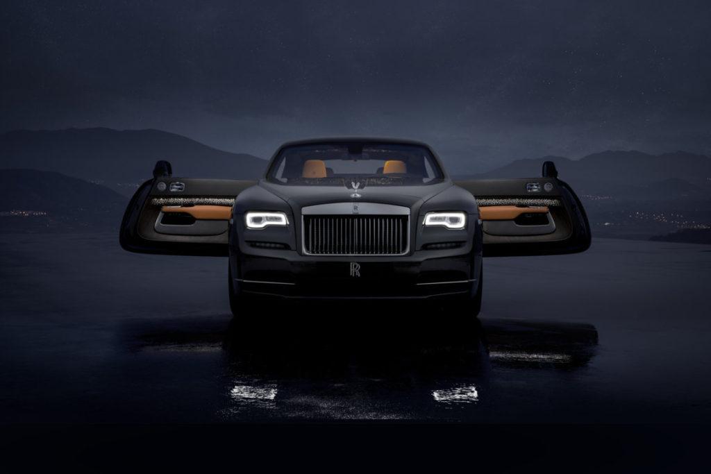 Rolls Royce Wraith Luminary Collection 2018