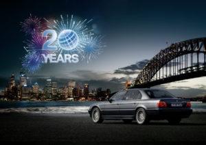 BMW ConnectedDrive 20 Years Anniversary