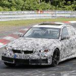 BMW M3 2020 G80 Spy - BMW Serie 3 G20 (2)