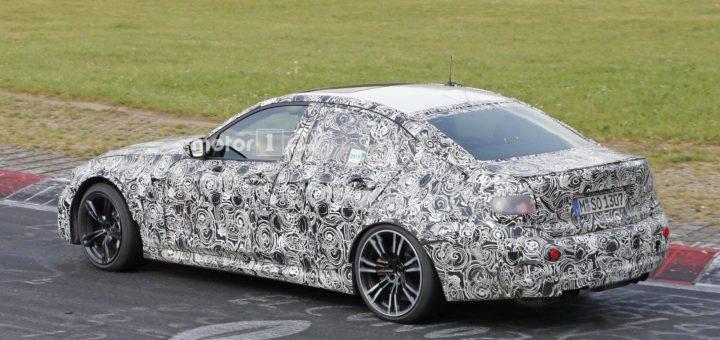 BMW M3 2020 G80 Spy - BMW Serie 3 G20 (8)
