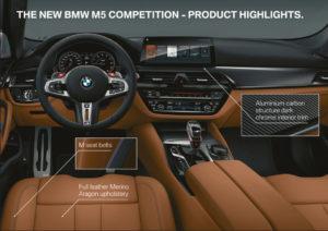 BMW M5 Competition 2018 - BMW M5 M xDrive F90 (13)