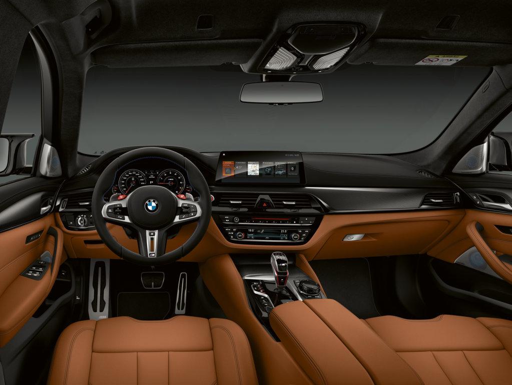BMW M5 Competition 2018 - BMW M5 M xDrive F90 (14)