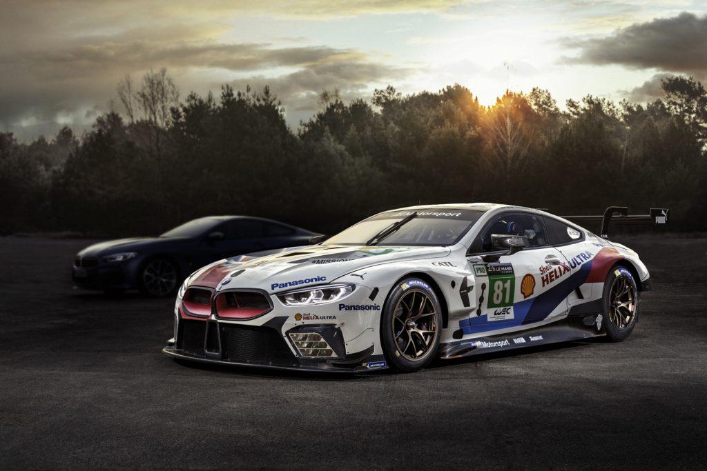 BMW M8 GTE 24h Le Mans - BMW Serie 8 Coupe' 2019 - G14 G15