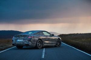 BMW M850i xDrive - BMW Serie 8 Coupe G14 Spy 2018 (11)
