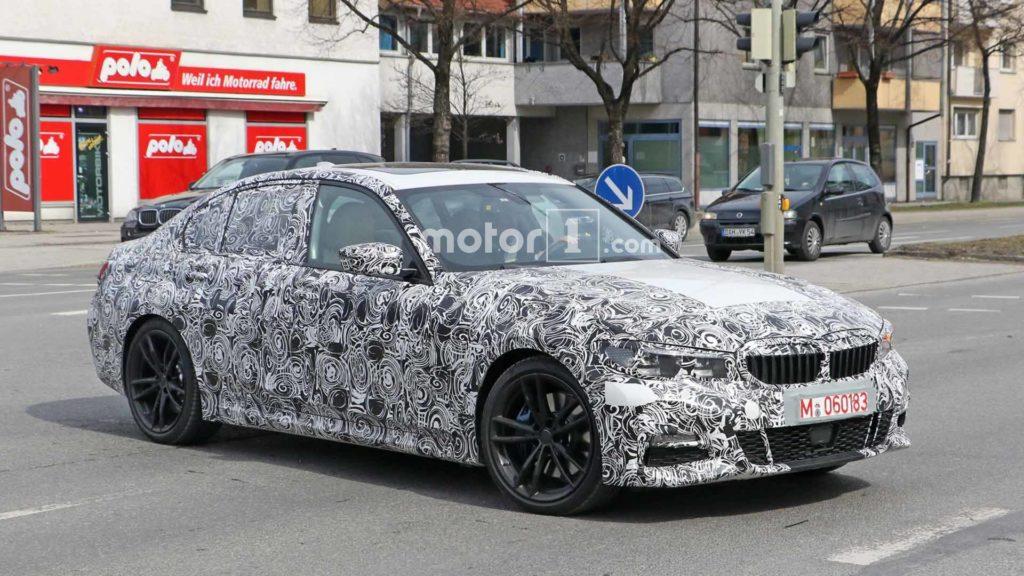 BMW Serie 3 2019 G20 Spy - BMW M340i M Sport (7)