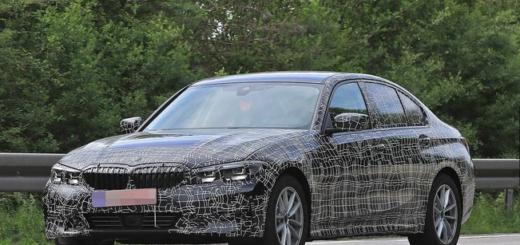 BMW Serie 3 G20 2019 Spy