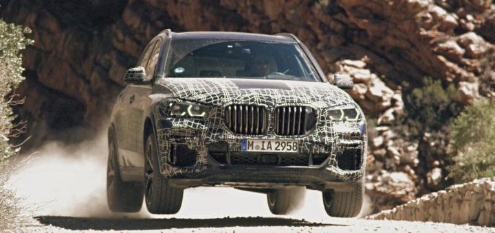 BMW X5 2019 G05 Spy BMW M Off Road Professional