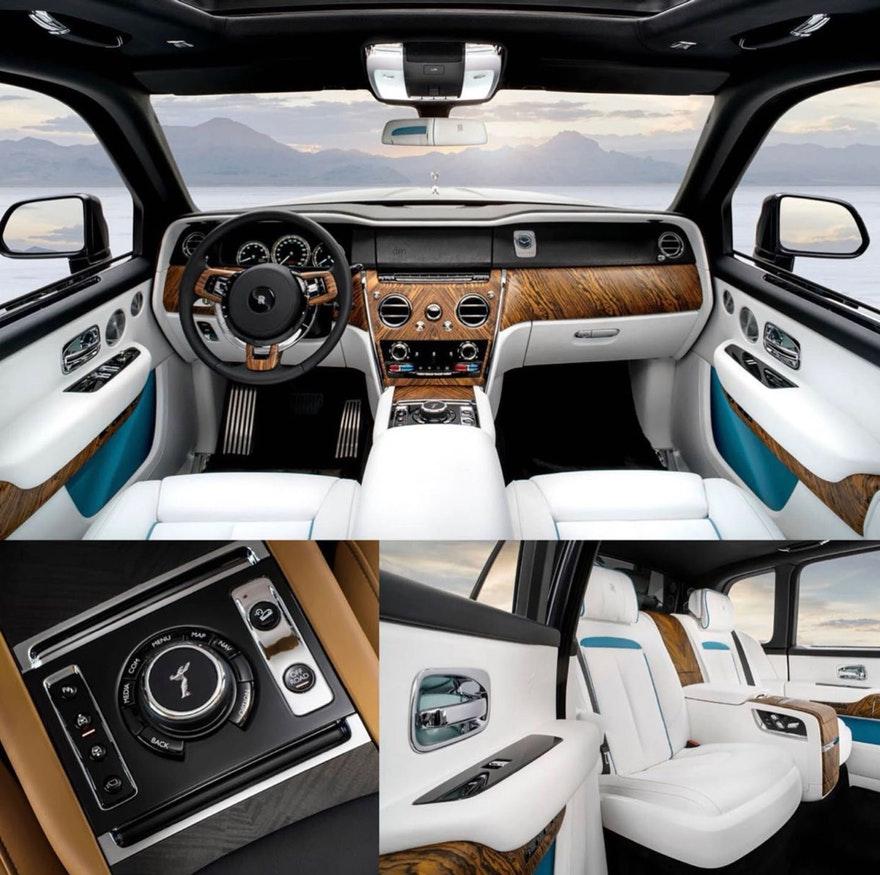 Rolls Royce Cullinan 2019 Leak Image