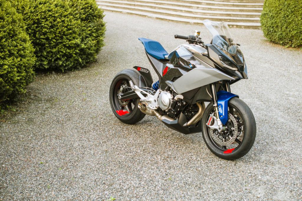 BMW Concept 9Cento 2018 Motorrad - Villa d'Este