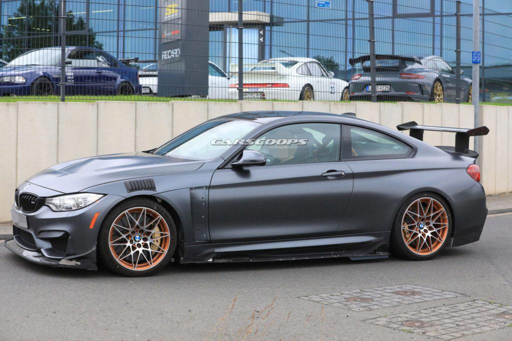 BMW M4 GTS - BMW M4 CSL prototype Spy (2)
