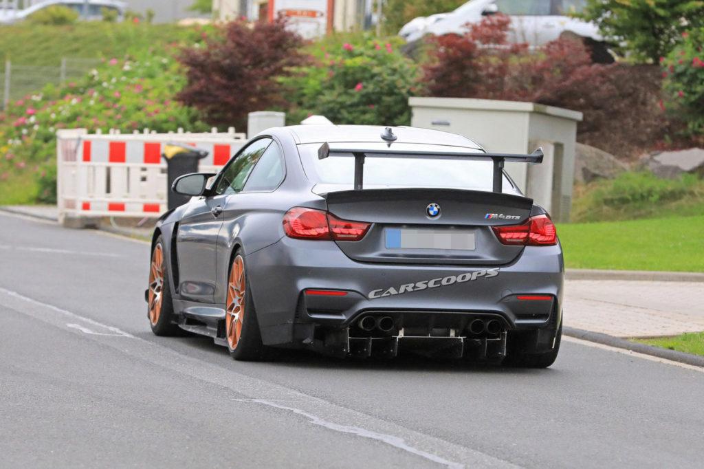 BMW M4 GTS - BMW M4 CSL prototype Spy (3)