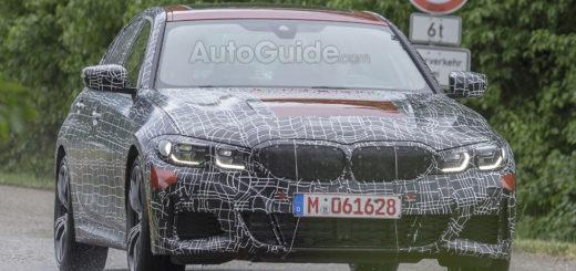 BMW Serie 3 2019 Spy G20 M340i_M340d Invidual