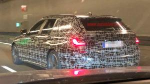 BMW Serie 3 Touring 2019 Spy G21 (2)