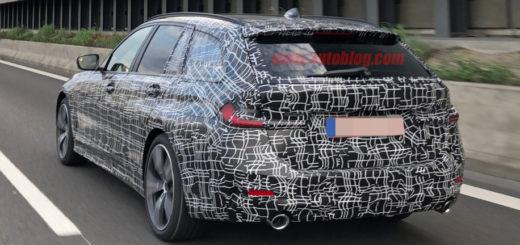 BMW Serie 3 Touring 2019 Spy G21