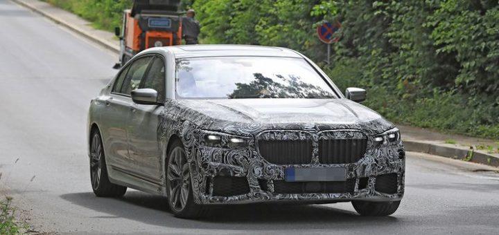 BMW Serie 7 LCI 2019 Spy G11 G12 (2)