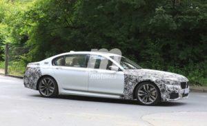 BMW Serie 7 LCI 2019 Spy G11 G12 (5)
