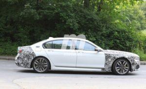 BMW Serie 7 LCI 2019 Spy G11 G12 (9)