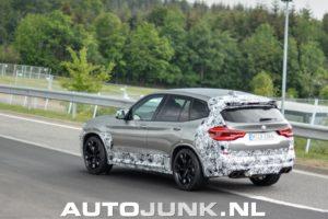 BMW X3M F97 Spy 2018 (5)