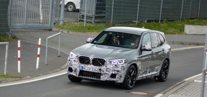 BMW X3M F97 Spy 2018