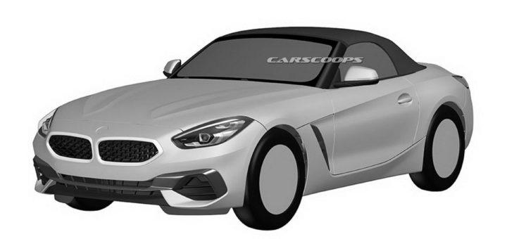 BMW Z4 Roadster 2019 Spy Patents (3)