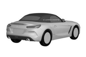 BMW Z4 Roadster 2019 Spy Patents