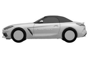 BMW Z4 Roadster 2019 Spy Patents (7)