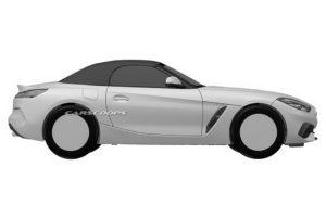 BMW Z4 Roadster 2019 Spy Patents (8)